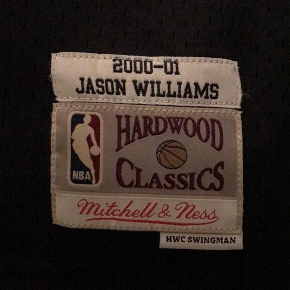 online retailer fb2fc d38ef Brand new hardwood classic Jason Williams jersey NWT